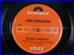 The Jimi Hendrix Experience Electric Ladyland NUDE COVER 2LPs Vinyl vg++