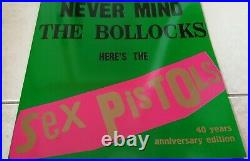 The Sex Pistols Never Mind N. M. T. B. Green Cover Vinyl Album Limited Edition