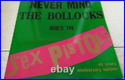 The Sex Pistols Never Mind N. M. T. B. Green Cover Vinyl Album Ltd Edition Punk