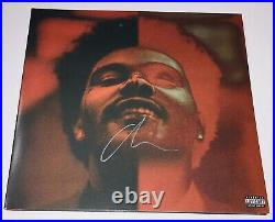 The Weeknd Signed Autograph After Hours Deluxe Vinyl Record Album Cover Sold Out