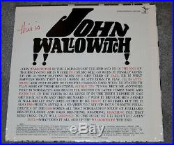 This Is John Wallowitch SEALED LP 1964 Serenus SEP-2005 Andy Warhol album cover
