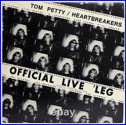 Tom Petty and the Heartbreakers (5) Signed Rare 1977 Promo Album Cover BAS
