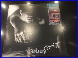 Tom Waits Signed Foreign Affairs Album Cover BAS Authenticated Coa And Crewpass
