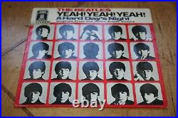 ULTRARARE Beatles A hard Days Night ZWITTER Pressung 1969 Neues Cover altes SMO