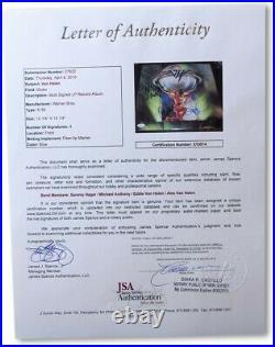 Van Halen Band Signed Autographed Record Album Cover Hagar Anthony JSA X10014