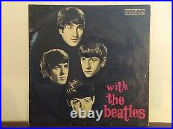 With The Beatles Record Album RARE AUSTRALIAN Pressing with Floating Heads Cover