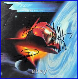 ZZ Top (3) Gibbons, Beard, & Hill Signed Afterburner Album Cover With Vinyl BAS